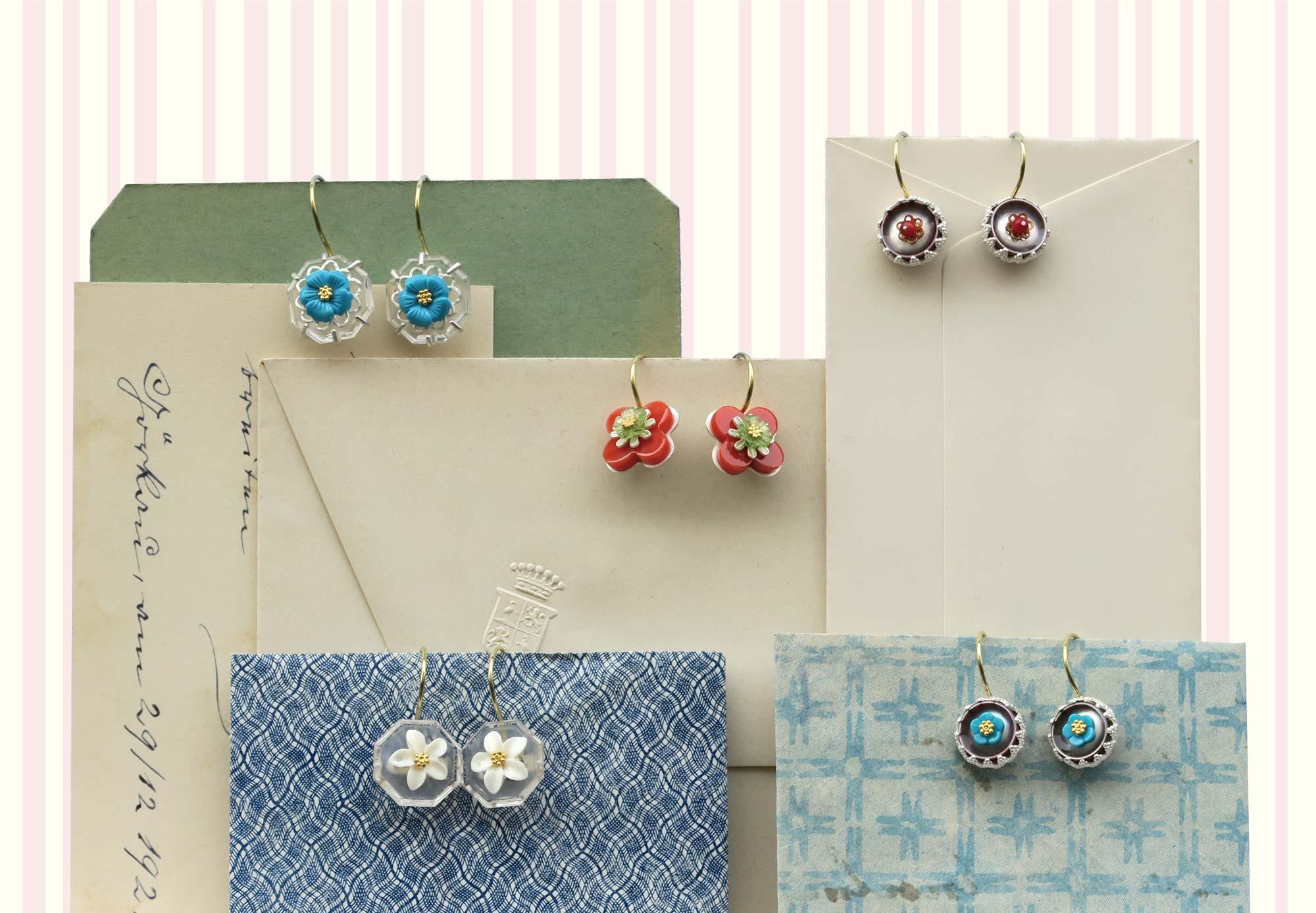 Frühlingsboten - Ohrringe von Anne von Waechter